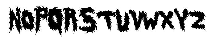 HairyFun Font UPPERCASE
