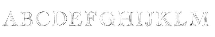 Haityfont Font UPPERCASE