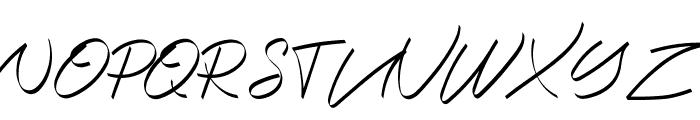 Halana Font UPPERCASE