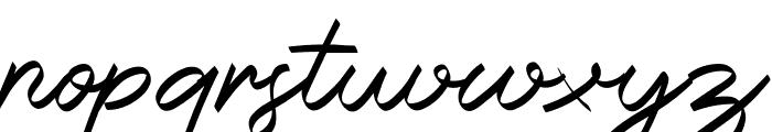 Halana Font LOWERCASE