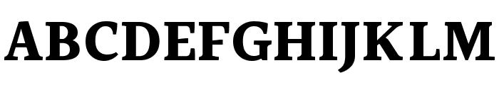 Halant Bold Font UPPERCASE