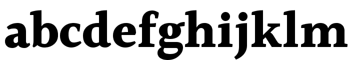 Halant Bold Font LOWERCASE