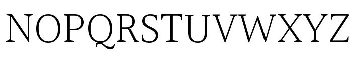 Halant Light Font UPPERCASE