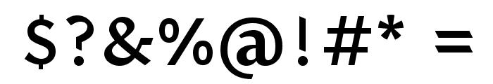 Halant Semibold Font OTHER CHARS