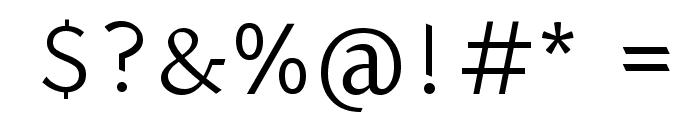 Halant Font OTHER CHARS