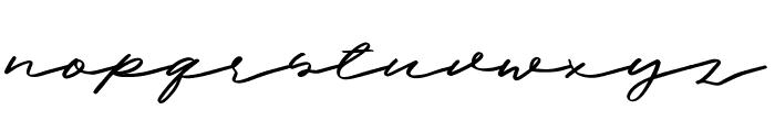 Halbrein Font LOWERCASE