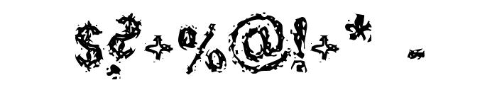 Halebopp Font OTHER CHARS