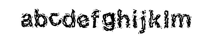 Halebopp Font LOWERCASE
