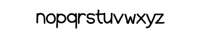 HalfTones Font LOWERCASE