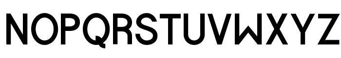 Halfmoon Bold Font UPPERCASE