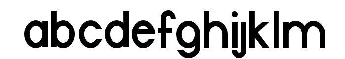 Halfmoon Bold Font LOWERCASE