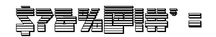 Halfshell Hero Chrome Regular Font OTHER CHARS