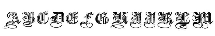 Halftone Black DemiBold Font UPPERCASE