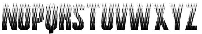 HalftoneNium Font LOWERCASE