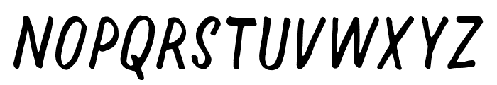 Halfway Font UPPERCASE