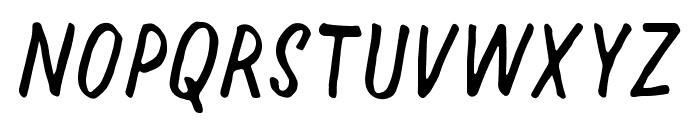 Halfway Font LOWERCASE