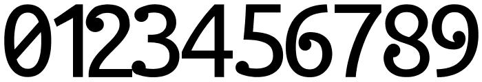 Halida Sans Normal Font OTHER CHARS