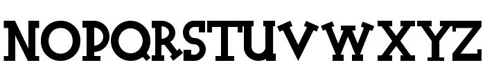 Halidians Blockserif Font LOWERCASE