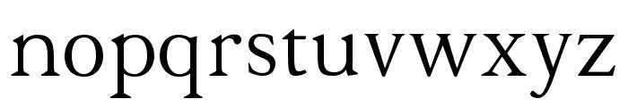 Halion Font LOWERCASE