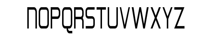 Hall Fetica Narrow Font UPPERCASE