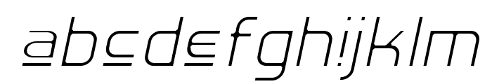 Hall Fetica Upper Decompose It Font LOWERCASE