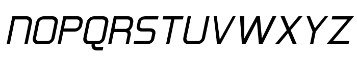 Hall Fetica Upper Italic Font UPPERCASE