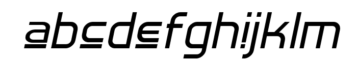 Hall Fetica Upper Italic Font LOWERCASE