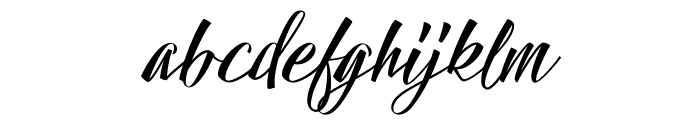 Hallelujah Font LOWERCASE