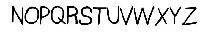 HalleyveticaNBP Font UPPERCASE