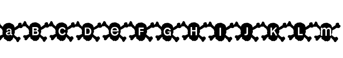 HalloWien Font UPPERCASE