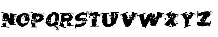 HalloWienTheTramps Font UPPERCASE