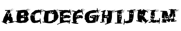 HalloWienTheTramps Font LOWERCASE