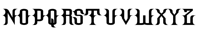Hallow Grave Font LOWERCASE