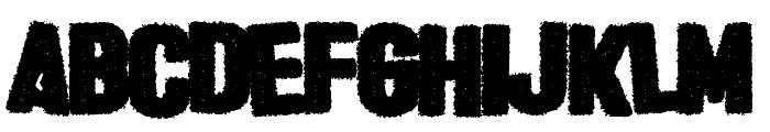 Halloween * Heresy Font LOWERCASE