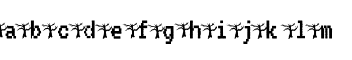 Halloween Party Font LOWERCASE