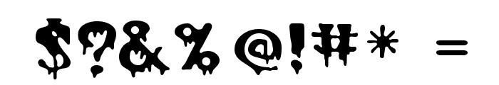 Halloween Regular Font OTHER CHARS