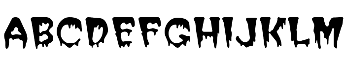 Halloween Regular Font UPPERCASE
