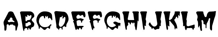 Halloween Regular Font LOWERCASE