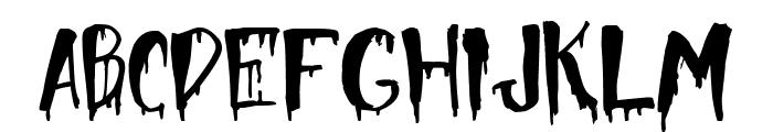 Halloween Too Font UPPERCASE