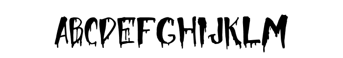 Halloween Too Font LOWERCASE