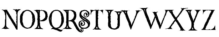 Hallowen Inline Font LOWERCASE