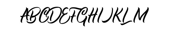 Halmahera Island Font UPPERCASE