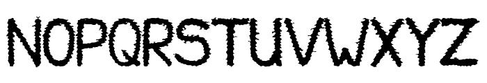 Halny Font UPPERCASE