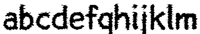 Halny Font LOWERCASE