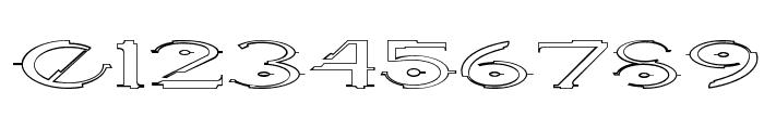 Halo OutlineRegular Font OTHER CHARS