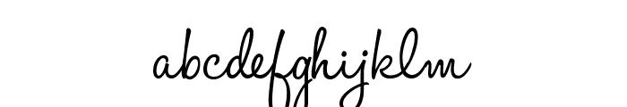 HaloHandletter Font LOWERCASE