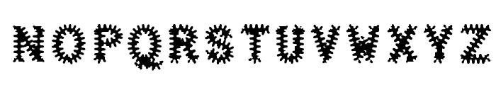 Halter Antigenic Font UPPERCASE