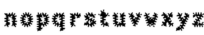 Halter Antigenic Font LOWERCASE