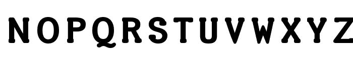 Halter Font UPPERCASE