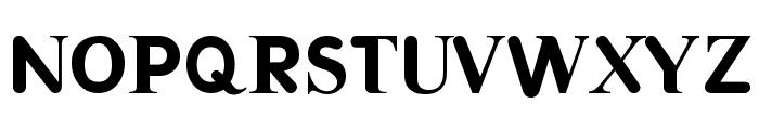 Halvar Font UPPERCASE